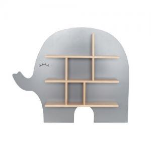 Jabadabado Hylla Elefant Grå