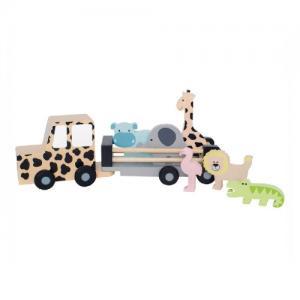 Jabadabado Jeep Safari med Djur