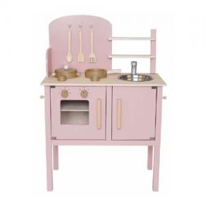 Jabadabado Kitchen with Pot & Pan - Pink