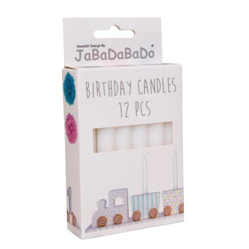 Jabadabado Ljus till Födelsedagståg / Ljusstake