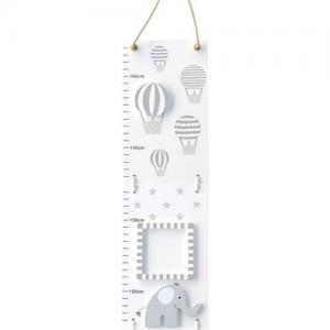 Jabadabado Growth chart elephants Grey
