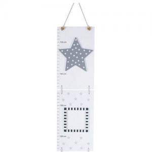 Jabadabado Growth Chart Star Grey