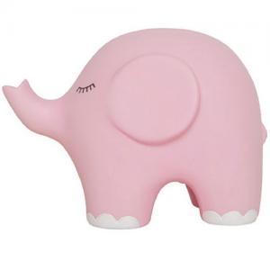 Jabadabado Nattlampa Elefant Rosa