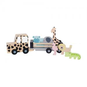 Jabadabado Safari Jeep with Animals