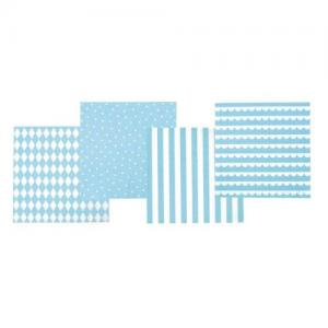 Jabadabado Napkins Light Blue 20 pcs