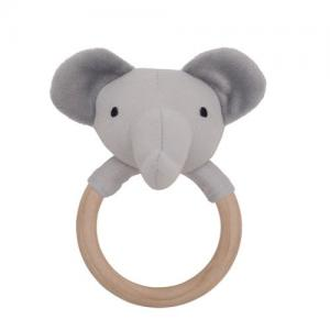 Jabadabado Rattle Ring Elephant