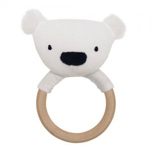 Jabadabado Rattle Ring Polar Bear