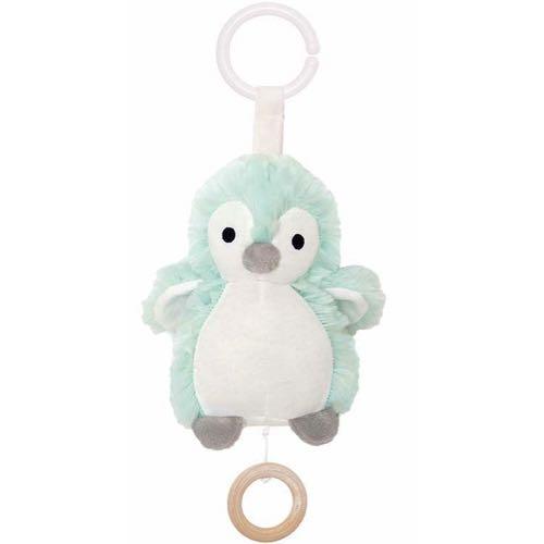 Jabadabado Speldosa Pingvin Mintblå  Vit