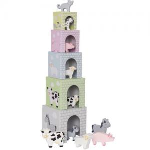 Jabadabado Stacking Cubes Animal