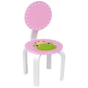 Jabadabado Stol rosa med en groda