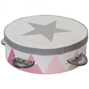 Jabadabado Tambourine Drum Pink