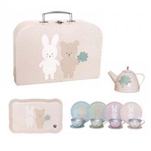 Jabadabado Tea Set Teddy & Bunny