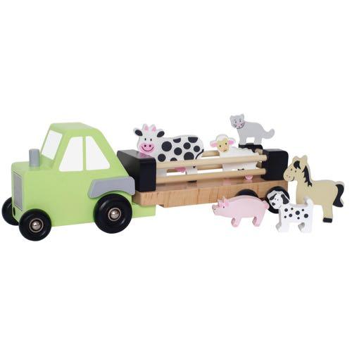 Jabadabado Traktor med bondgårdsdjur
