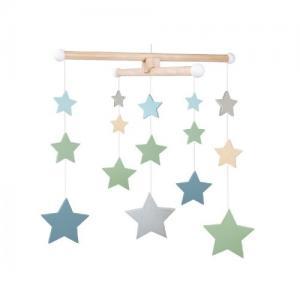 Jabadabado Wooden Mobile Stars