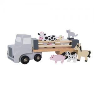 Jabadabo Lastbil med bondgårdsdjur