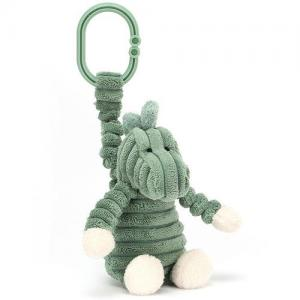 Jellycat Stroller Hanging Pendent With Stuffed Animal Cordy Roy Dino Jitter