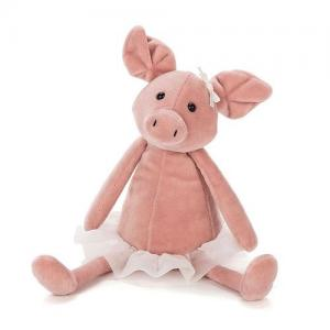 Jellycat Stuffed Animal Dancing Darcey Piglet Small