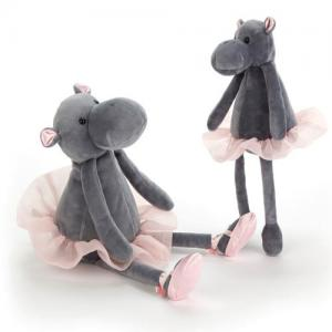 Jellycat Gosedjur Dancing Darcey Hippo Medium 33 cm