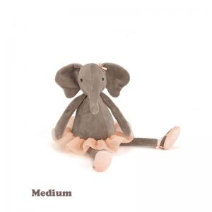 Jellycat Gosedjur Dancing Darcey Elefant Medium