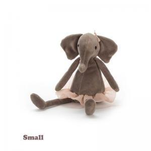 Jellycat Stuffed Animal Dancing Darcey Elephant Small