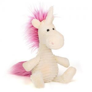 Jellycat Gosedjur Ursula Unicorn Vit