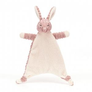 Jellycat Cordy Roy Baby Bunny Soother Pink
