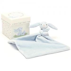 Jellycat Snuttefilt Kanin Presentlåda Blå