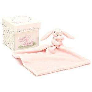 Jellycat Cuddly Bunny Present Box Pink