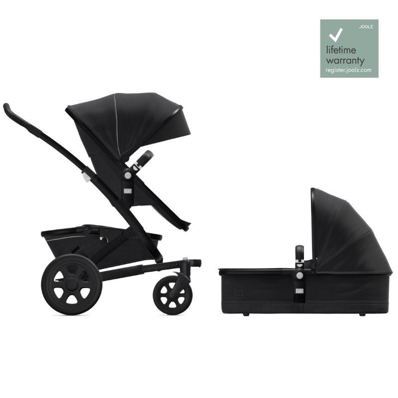 Joolz Geo2 Brilliant Black Komplett Barnvagn med Liggdel & Sittdel