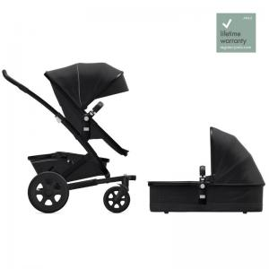 Joolz Geo2 Brilliant Black Complete Pushchair with Cot & Seat