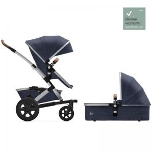Joolz Geo2 Classic Blue Complete Pushchair with Cot & Seat