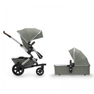 Joolz Geo2 Komplett Vagn Earth Kollektion Elephant Grey