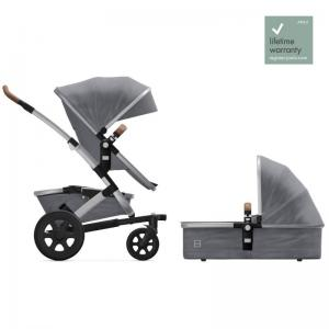 Joolz Geo2 Gorgeous Grey Complete Pushchair with Cot & Seat