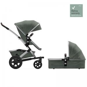 Joolz Geo2 Marvellous Green Complete Pushchair with Cot & Seat
