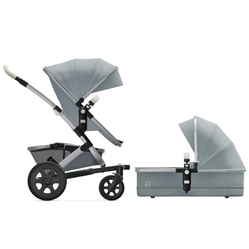 Joolz Geo2 Gentle Blue Komplett Barnvagn med Liggdel & Sittdel