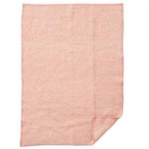 Klippan Yllefabrik 100 % Ekologisk Ullfilt Domino Baby Pink
