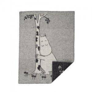 Klippan Wool factory 100% Organic Wool Blanket Moomin Tree Hug