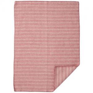 Klippan Yllefabrik 100 % Ekologisk Ullfilt Sumba Baby Pink