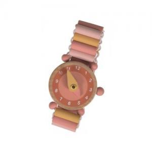 Klocka i Trä Armbandsklocka Rosa 3+ år