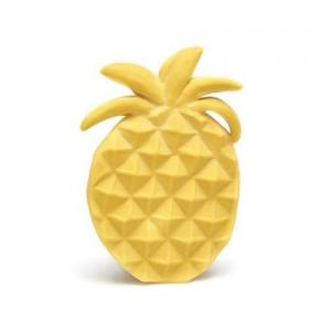 Lanco Toys Bitring 100 % Naturgummi Ananas