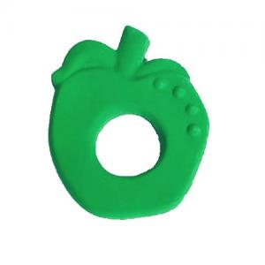Lanco Toys Teether Ring 100% Natural Rubber Apple