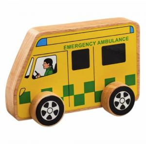Lanka Kade Fair Trade Ambulance In Wood