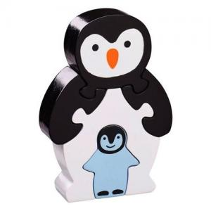 Lanka Kade Fair Trade Puzzle Penguin With Baby