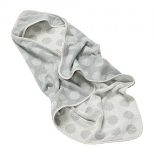 Leander Hoodie Badcape Cool Grey