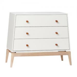 Leander Luna Dresser Byrå Vit / Ek