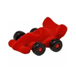 Leklyckan Rubbabu Natural Foam Medium Racer Car Red