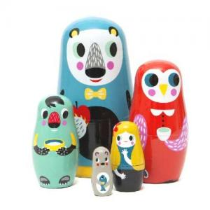 Leklyckan Russian Dolls Animals