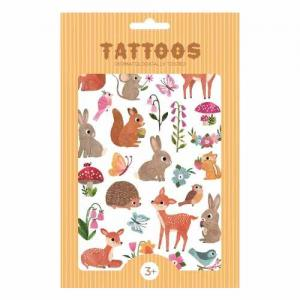 Leklyckan Temporary Tattoos Forest Animals