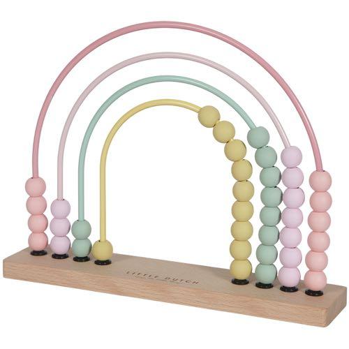 Little Dutch Abacus Rainbow Pink