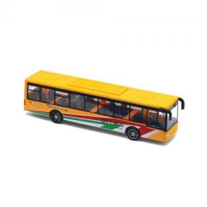 Magni City Buss Pullback Gul